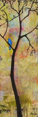 Three Trees Triptych Section 3 by Blenda Tyvoll