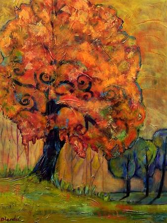 Tree of Wisdom by Blenda Tyvoll
