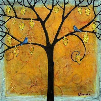 Yellow Tree of Life by Blenda Tyvoll