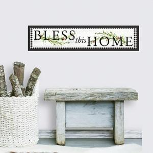 Bless This Home Country Quote Peel And Stick Wall Decals