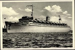 Blick Auf Das Kdf Dampfschiff Wilhelm Gustloff