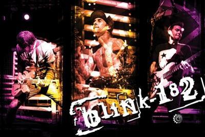 Blink 182 Live Collage