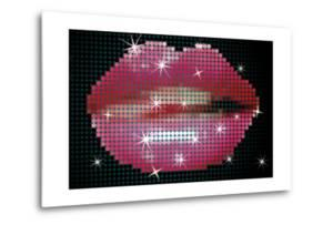 Shiny Lips On Screen by Blink Blink