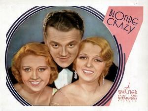Blonde Crazy, from Left, Joan Blondell, James Cagney, Noel Francis, 1931
