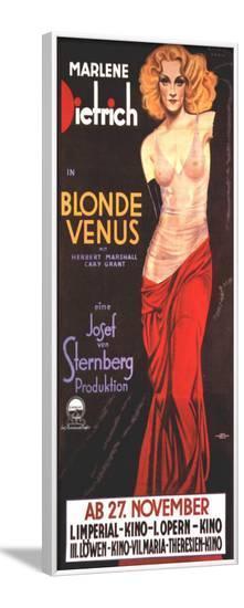 Blonde Venus--Framed Poster