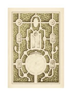 Garden Maze I by Blondel