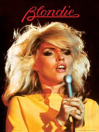 Blondie (Heart Of Glass) Music Poster