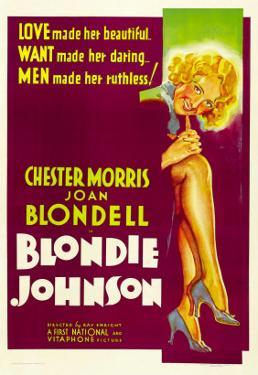 Blondie Johnson, Joan Blondell, 1933