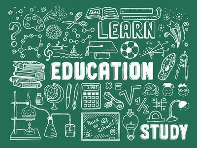 Education Doodle Elements