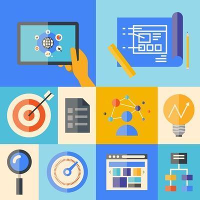 Website Development Illustration Concept