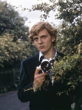 Blow-up by Michelangelo Antonioni (1912 - 2007) with David Hemmings, 1966 (photo)