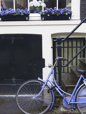 Blue Bicycle, Amsterdam, Netherlands, Europe