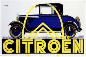 Blue Citroen