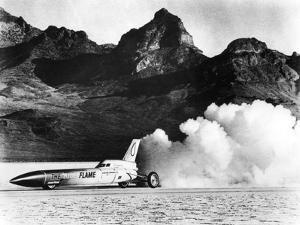 'Blue Flame' Rocket-Powered Car, C1970