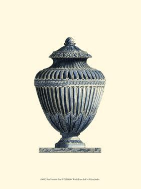 Blue Porcelain Urn III