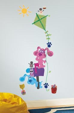 Blue's Clues Peel & Stick Growth Chart Wall Decals