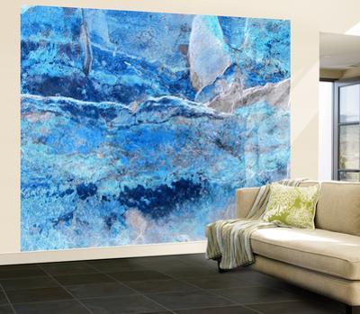 Blue Slate Wall Mural
