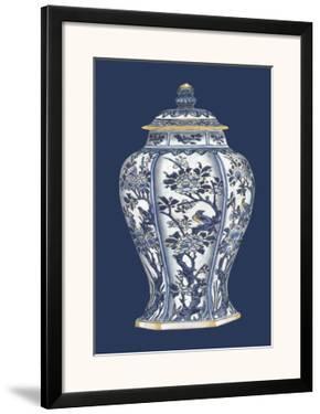 Blue & White Porcelain Vase II