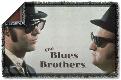 Blues Brothers - Brothers Woven Throw