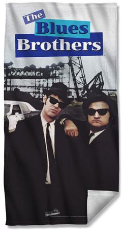 Blues Brothers - Poster Beach Towel