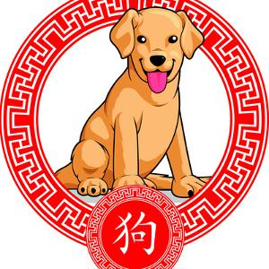 Chinese Zodiac Animal - Dog by BluezAce