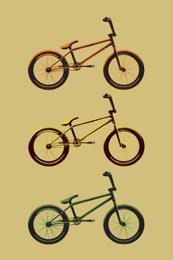 BMX Bikes Pop Sports Plastic Sign