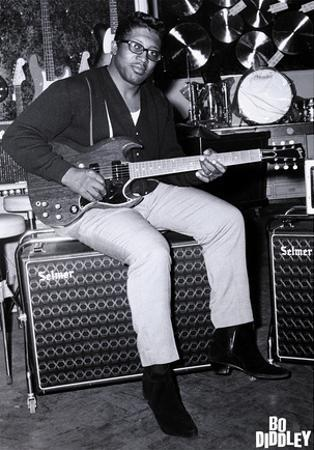 Bo Diddley - Music Store, London 1967