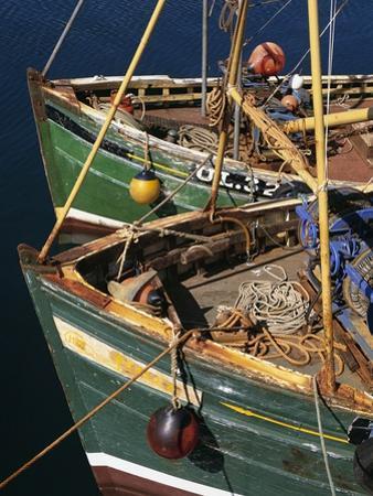 Fishing Boat Prows by Bo Zaunders