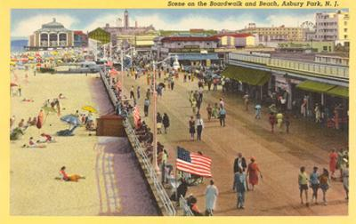 Boardwalk, Asbury Park, New Jersey