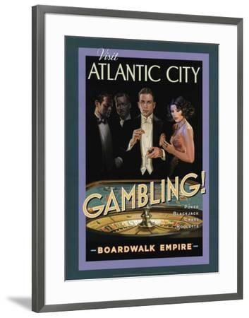 Boardwalk Empire - Gambling--Framed Poster