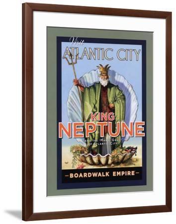 Boardwalk Empire - King Neptune--Framed Poster