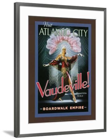 Boardwalk Empire - Vaudeville!--Framed Poster
