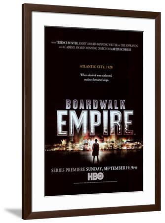Boardwalk Empire--Framed Poster