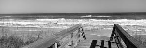 Boardwalk Leading Towards a Beach, Playlinda Beach, Canaveral National Seashore, Titusville