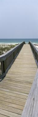 Boardwalk on the Beach, Bon Secour National Wildlife Refuge, Bon Secour, Gulf Shores, Alabama, USA