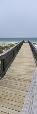 Boardwalk on the Beach, Bon Secour National Wildlife Refuge, Bon Secour, Gulf Shores, Alabama, USA