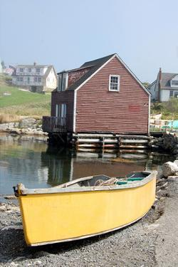 Boat & Dock Peggy's Cove NS
