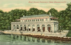 Boat House, Prospect Park, Brooklyn, New York