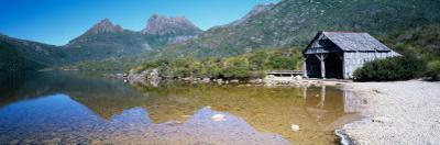 Boathouse at the Lakeside, Dove Lake, Cradle Mountain-Lake St Clair National Park, Tasmania