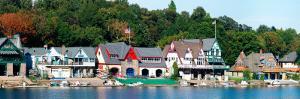 Boathouse Row at the Waterfront, Schuylkill River, Philadelphia, Pennsylvania, USA