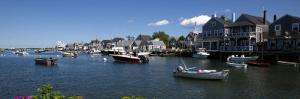 Boats at a Harbor, Nantucket, Massachusetts, USA