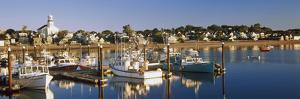 Boats at a Harbor, Provincetown, Cape Cod, Barnstable County, Massachusetts, USA