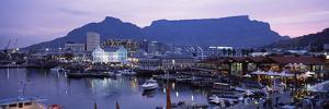 Boats at a Harbor, Victoria and Alfred Waterfront, Table Mountain, Cape Town