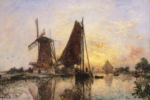 Boats by the Mill