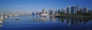 Boats Docked at the Harbor, Vancouver, British Columbia, Canada