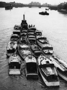 Boats from Dunkirk Evacuation