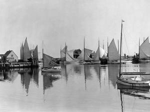 Boats in Nantucket Harbor