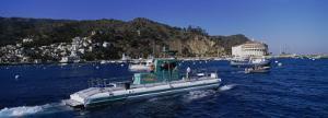 Boats in the Ocean, Santa Catalina Island, California, USA