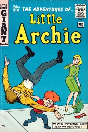 Archie Comics Retro: Little Archie Comic Book Cover No.24 (Aged)