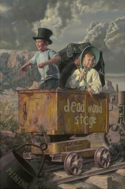 The Deadwood Stage by Bob Byerley